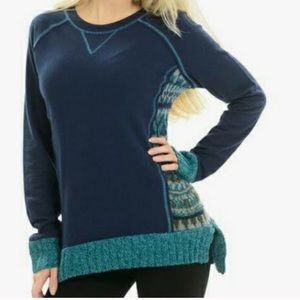Anthro ruby moon Nordic high low sweater